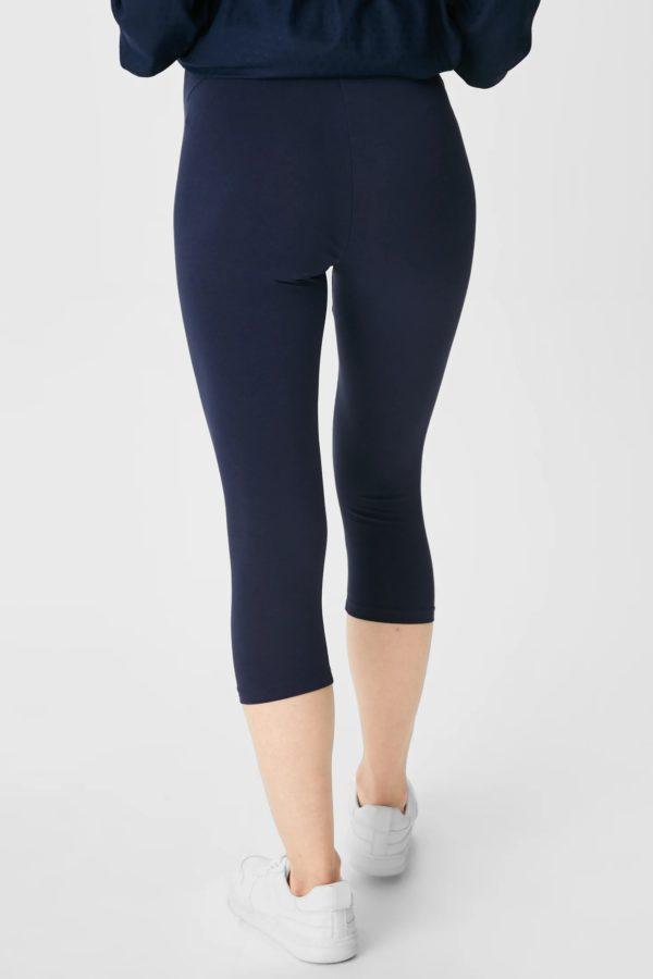 Pantalones cortos donde comprar C&A pantalon leggin azul