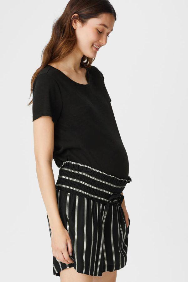 Pantalones cortos donde comprar C&A short estampado negro