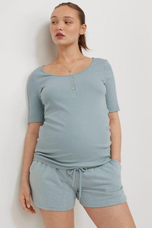 Pantalones cortos donde comprar H&M pantalon azul