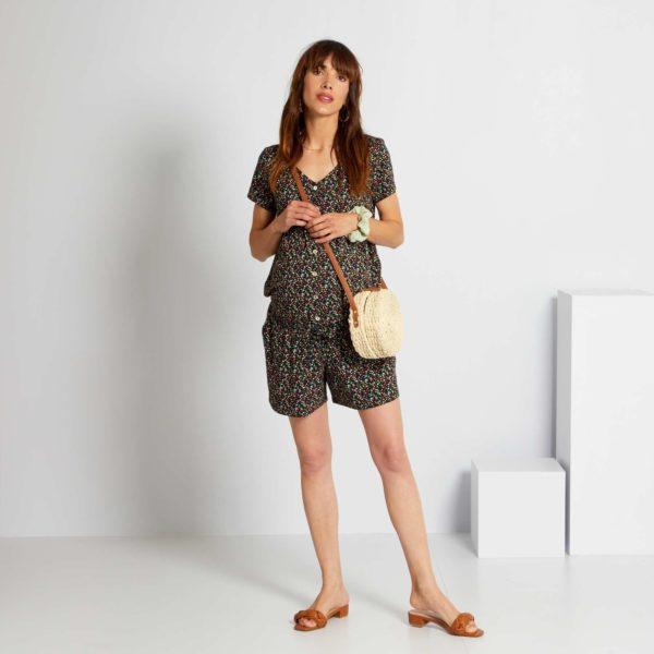 Pantalones cortos donde comprar KIABI pantalon estampado