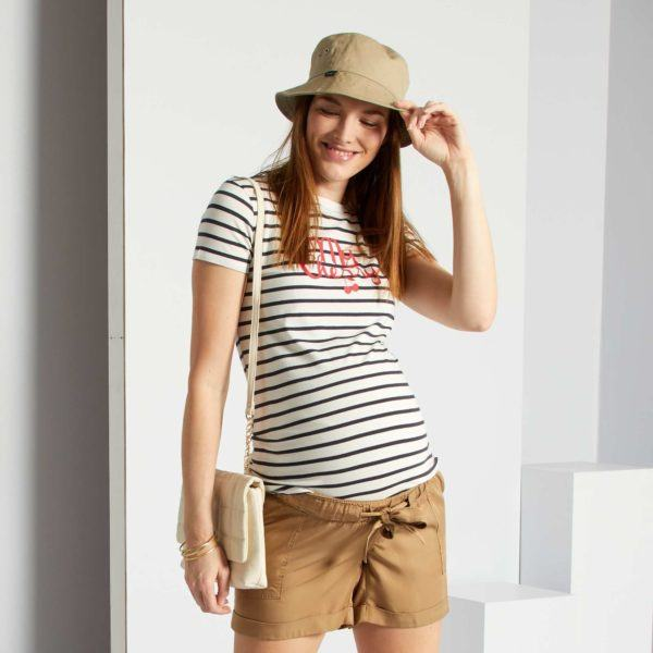 Pantalones cortos donde comprar KIABI pantalon vaporoso