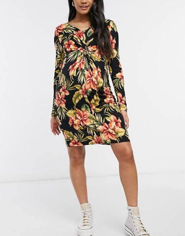 Vestidos premama donde comprar ASOS vestido estampado floral