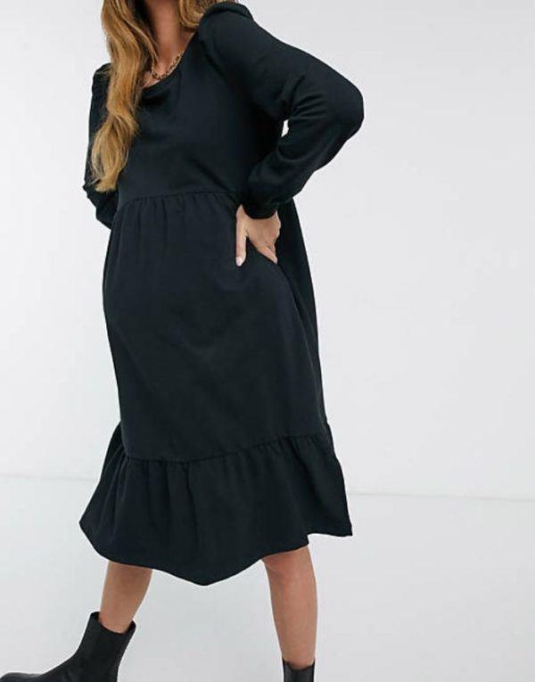Vestidos premama donde comprar ASOS vestido negro