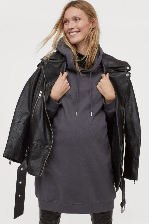 Vestidos premama donde comprar H&M estilo sudadera