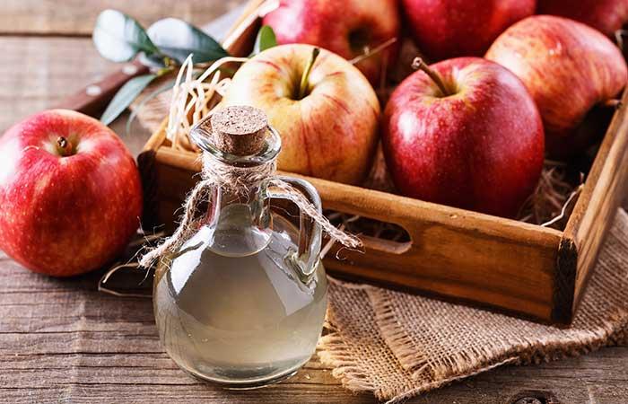Remedios caseros para la flema (mucosidad) - Vinagre de sidra de manzana