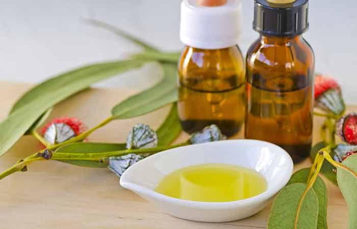 Remedios caseros para la flema (mucosidad) - Aceite de eucalipto