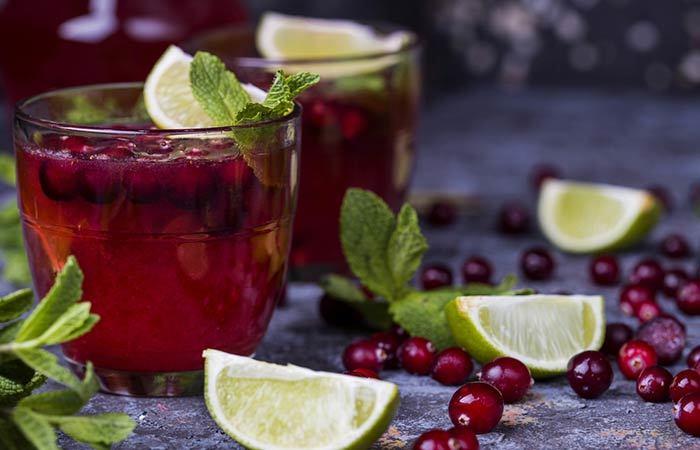 Cómo hacer zumo de arándanos en casa