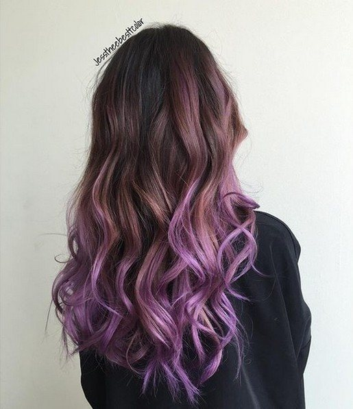 Bonito color de pelo - Peinados Ombre Balayage con pelo largo