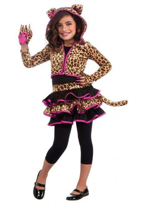 Disfraces para niñas para Hallowen 2015-de-gato