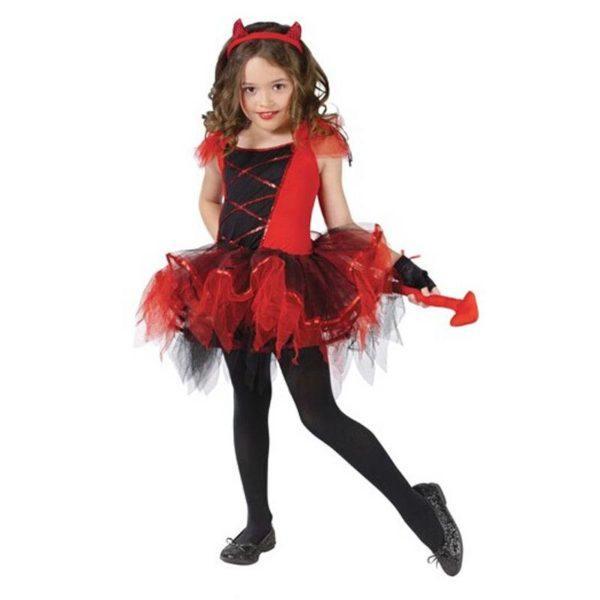 Disfraces para niñas para Hallowen 2015-demonio