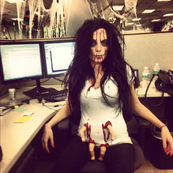 disfraces-halloween-embarazadas-halloween-2015-zombi
