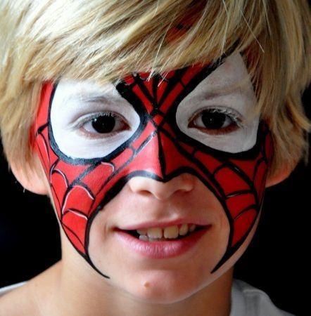 maquillaje-para-niños-carnaval-2015-maquillaje-superhéroe