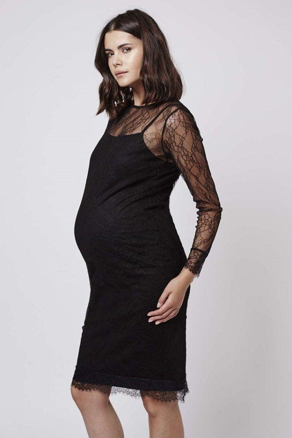 vestido embarazada fiesta