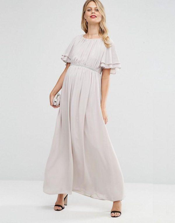 vestidos-para-embarazadas-invitadas-a-una-comunion-otono-invierno-2017-gris-pastel