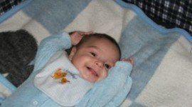 La sonrisa del bebé en su primer trimestre
