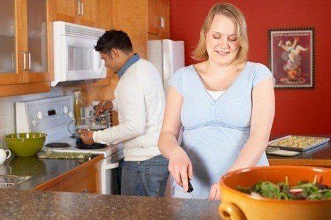 Hacer dieta en el embarazo es seguro y positivo