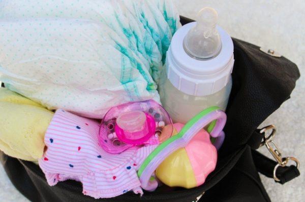Bolso del bebe panales