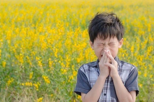 Tipos de alergia ninos