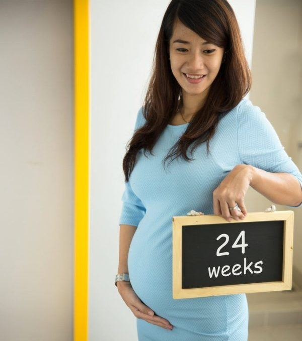 Calcular semanas de embarazo 24 semanas