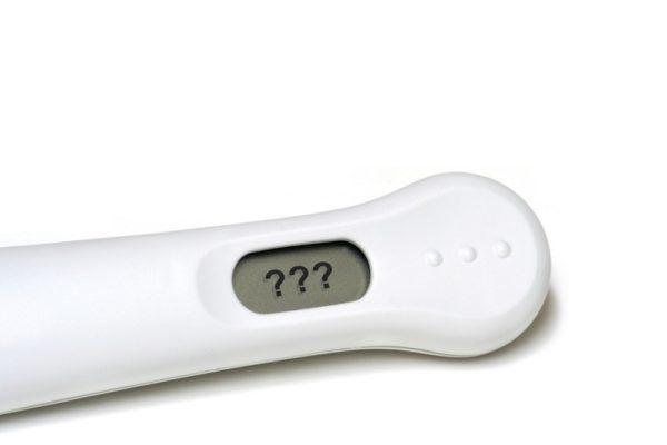 Sintomas de embarazo test en duda