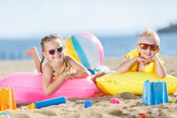10 planes para hacer con nuestros hijos en vacaciones playa
