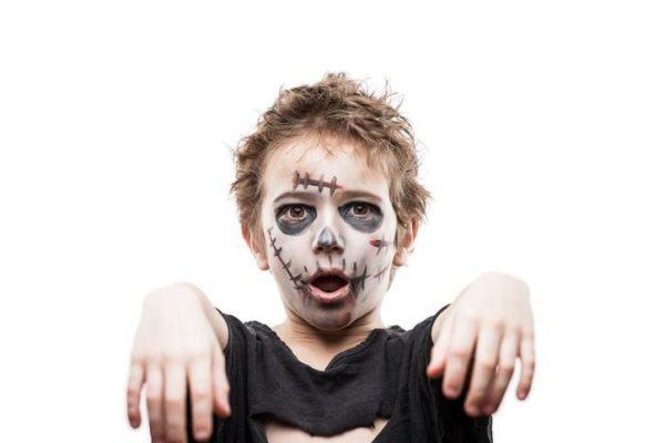 Pinturas para ninos cara cuerpo colores y fotos esqueleto