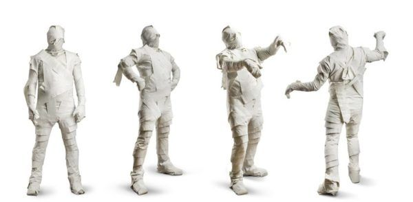Disfraz de La Momia The Mummy para ninos casero