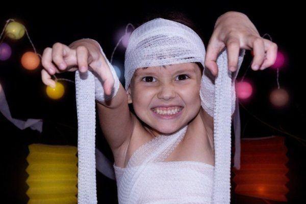 Disfraz de La Momia The Mummy para niños comodo