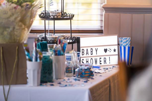 Ideas baby shower centro de mesa cartel luminoso