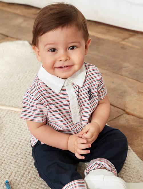 Lo mejor de la marca es que sigue la línea de las últimas tendencias en  ropa de bebé 1a52fc20498