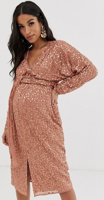 Moda Para Embarazadas En Navidad 2019 Embarazo10com