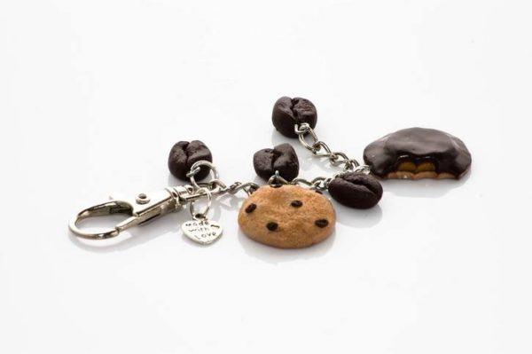 Llaveros para el dia del padre hechos a mano de galletas