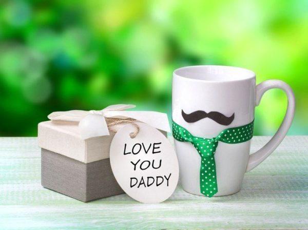 Regalos manualidades para el dia del padre tazas