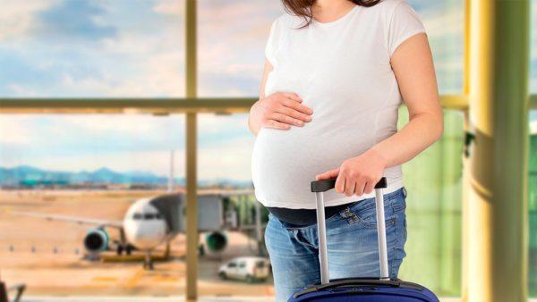 Viajar durante el embarazo destinos