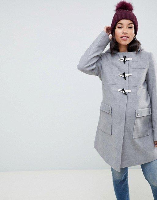 c256ef203 Otra de las propuestas de abrigos que Asos nos presenta para su moda de ropa  premamá