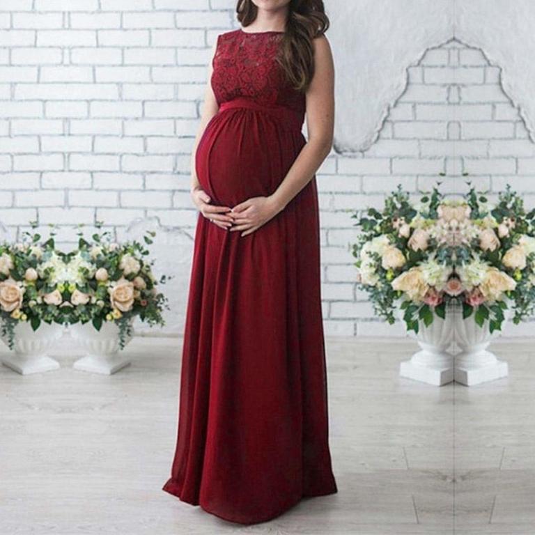 Vestidos De Fiesta Día Y Noche Para Embarazadas Otoño