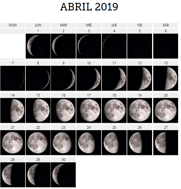 Calendario Lunar Febrero 2020.Calendario Lunar 2019 Para Predecir El Sexo Del Bebe