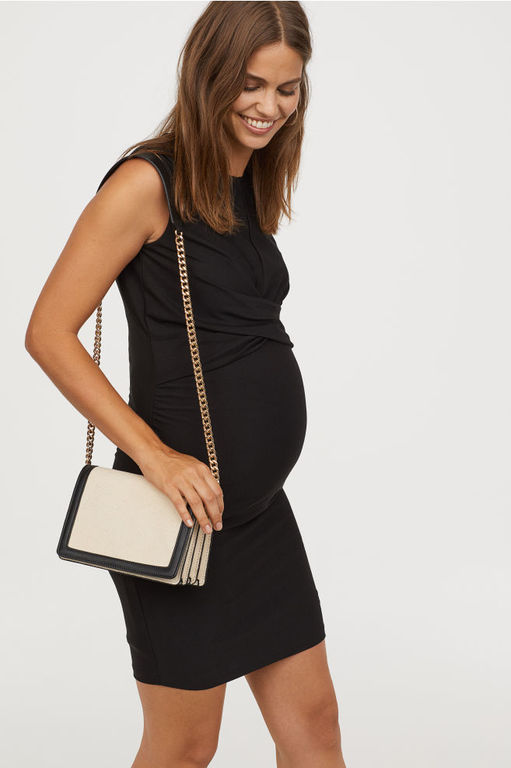 vestidos-de-fiesta-premama-para-embarazadas-corto-drapeado-hym