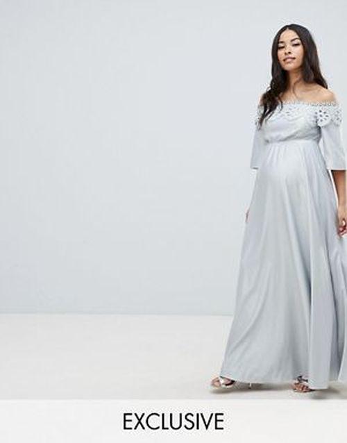 vestidos-para-embarazadas-invitadas-a-una-boda-escote-bardot-gris-asos