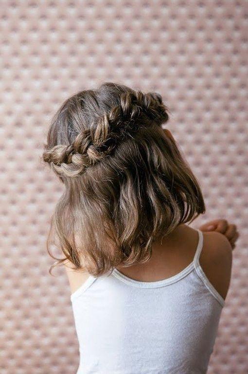 Los Mejores Peinados Para Niña Con Pelo Corto 2020