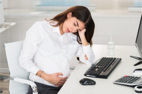 Signos del sincope vasovagal en el embarazo
