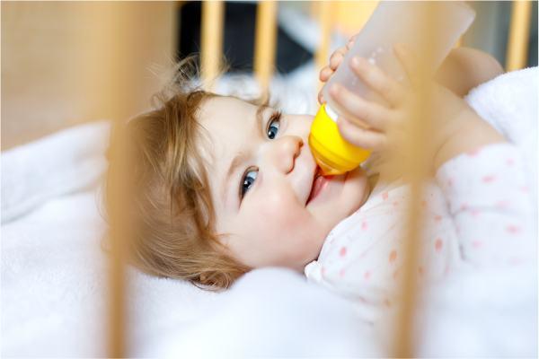 Leche de cabra para bebés
