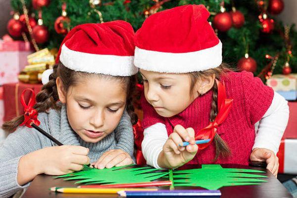 Manualidades ninos navidad