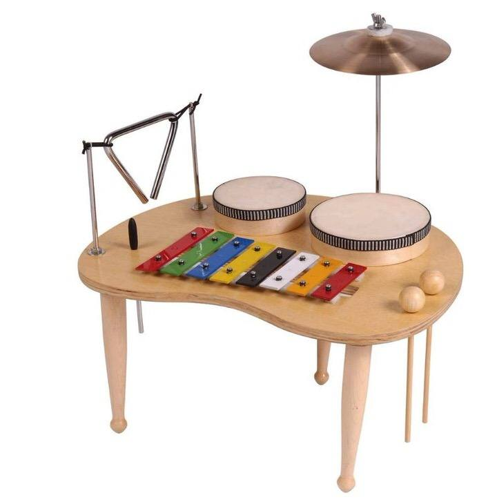 Mesa de percusión infantil