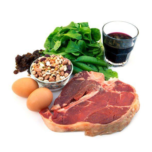 Alimentos ricos en hierro para embarazadas y ni os 50 alimentos para evitar la anemia - Alimentos que contengan hierro para embarazadas ...