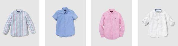 Catálogo-El-Corte-Inglés-Niños-Niñas-Primavera-Verano 2016-moda-para-eventos-niños-camisas
