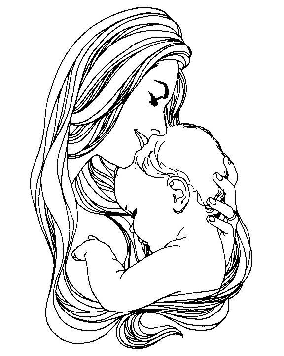 Etiquetas : Día de la Madre , dibujos , embarazadas , niños