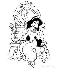 Dibujos de Alladin- Jasmine. Pulsa para ver más