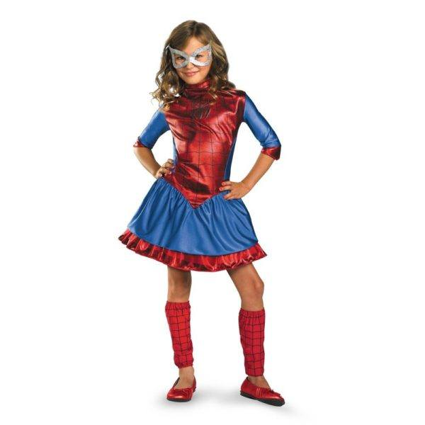 Disfraces para niñas para Hallowen 2015-de-spider-girl