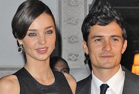 Miranda-Kerr y Orlando Blomm esperan su primer hijo